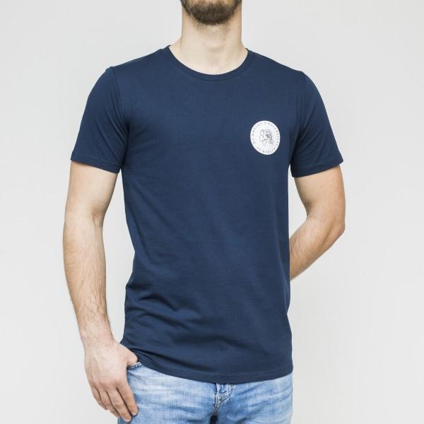 Herren-T-Shirt kleines Brustsiegel
