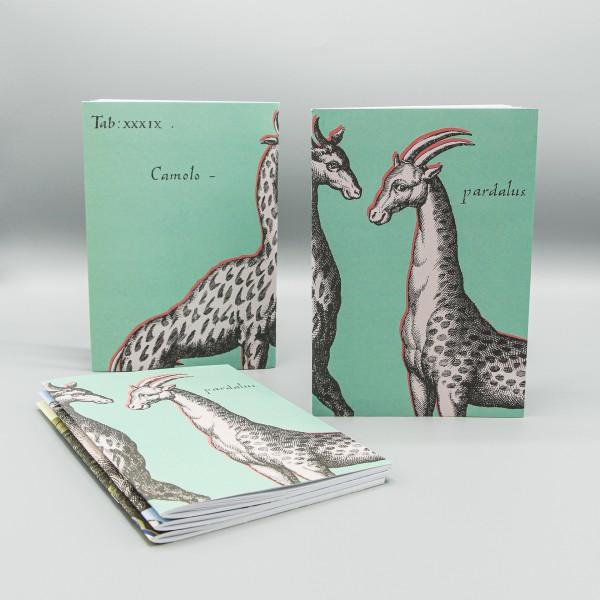 Notizheft Giraffe