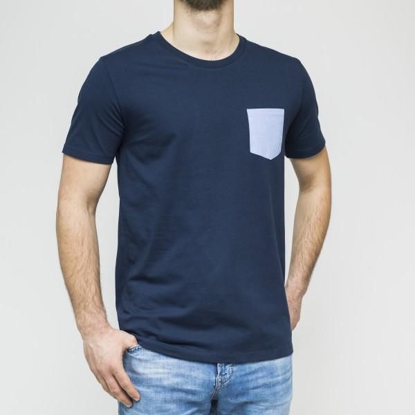 Herren-T-Shirt- Pocket