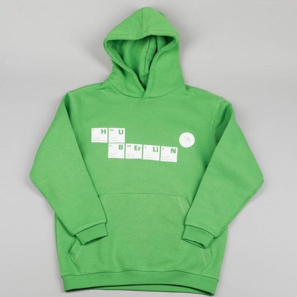 Kinder Kapuzenpullover HU-Elemente grün