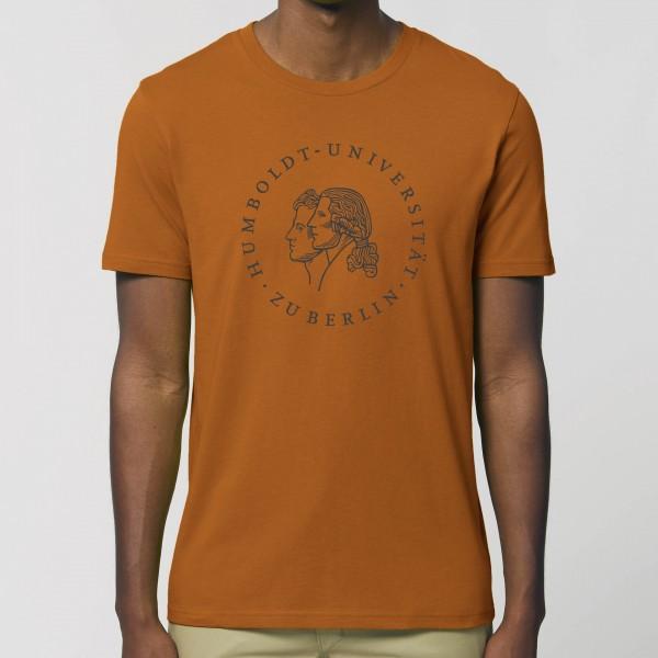 Herren-T-Shirt Siegel mit schwarzem Druck