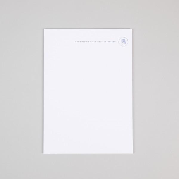 Schreibblock A4 Siegel