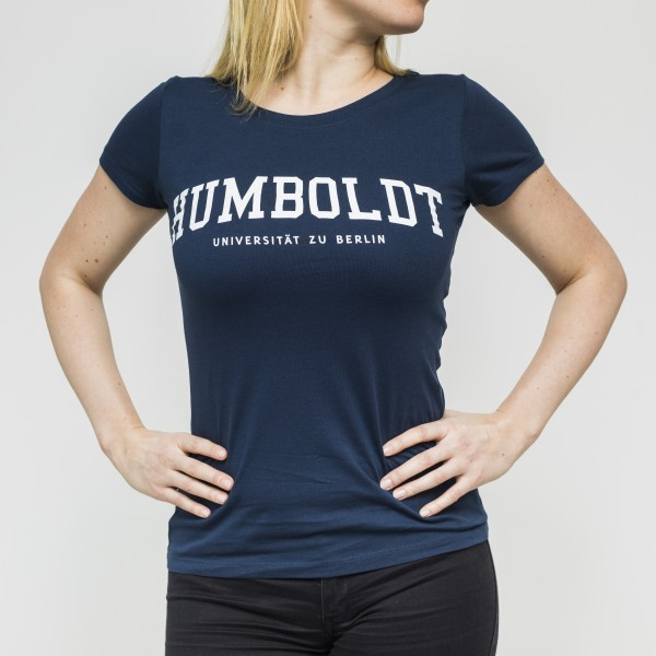 Damen-T-Shirt Schrift HUMBOLDT