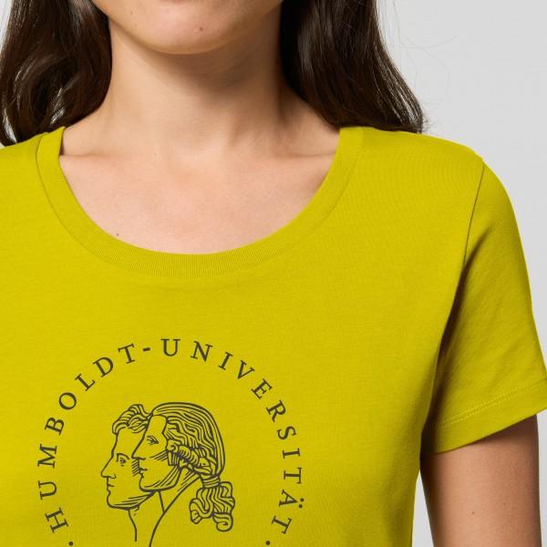 Damen-T-Shirt Siegel mit schwarzem Druck