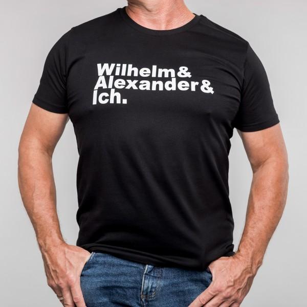 Unisex-T-Shirt Wilhelm & Alexander & Ich.