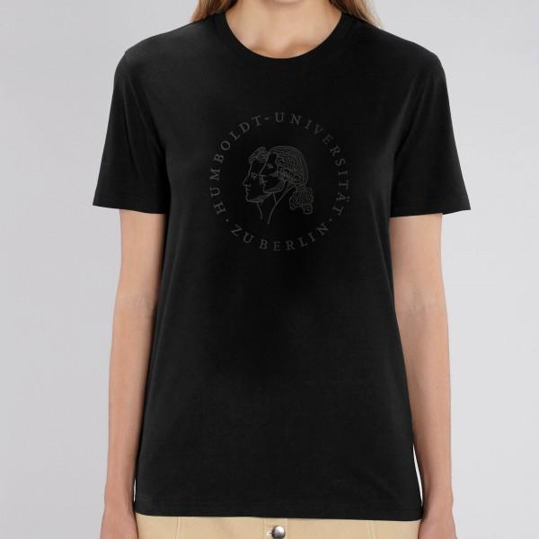 """T-Shirt Siegel der Humboldt-Universität zu Berlin - """"Blackline"""""""