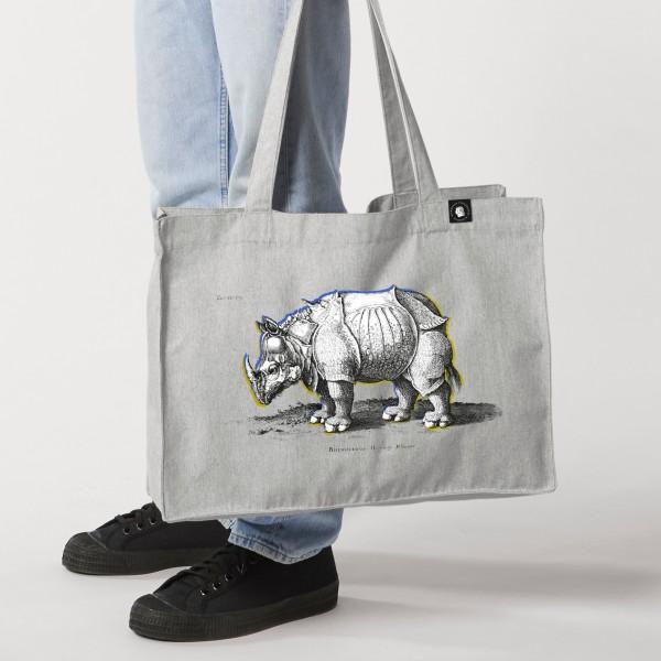 Shoppingtasche Nashorn