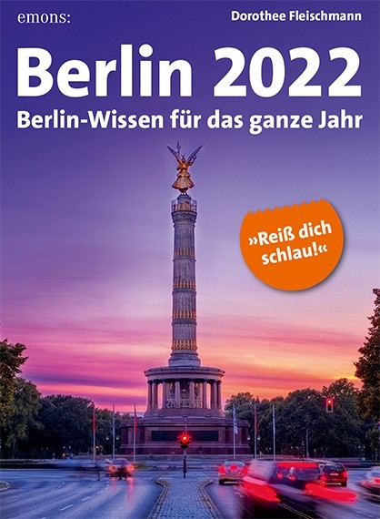Berlin 2022 Tageskalender
