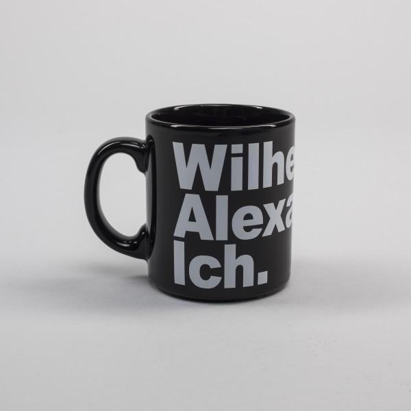 Keramiktasse Wilhelm & Alexander & Ich.
