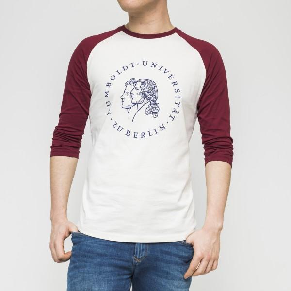 Baseball-Shirt Siegel mit halblangen Ärmeln