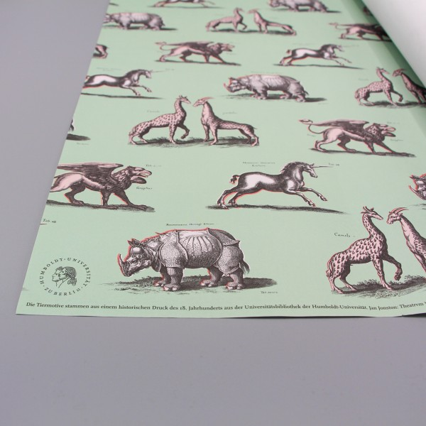 Geschenkpapier Fabelhafte Tiere