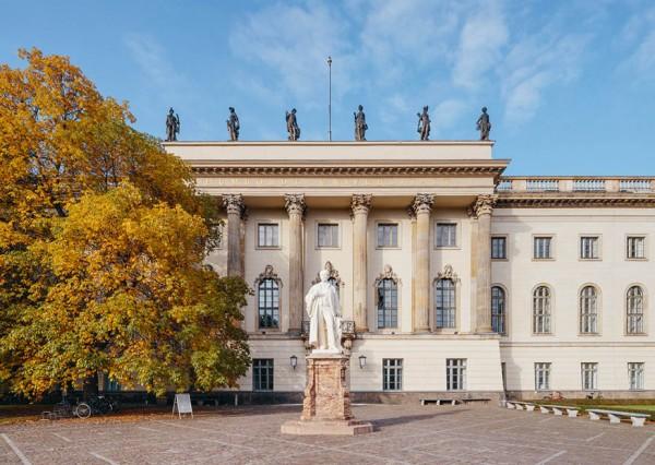 Postkarte Hauptgebäude der Humboldt-Universität zu Berlin
