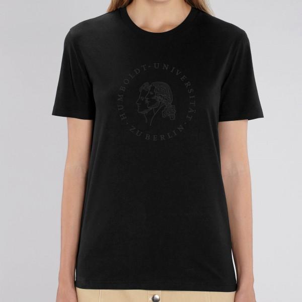 """Unisex-T-Shirt Siegel mit schwarzem Druck """"Blackline"""""""