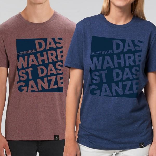 """Unisex-T-Shirt """"Das Wahre ist das Ganze"""""""