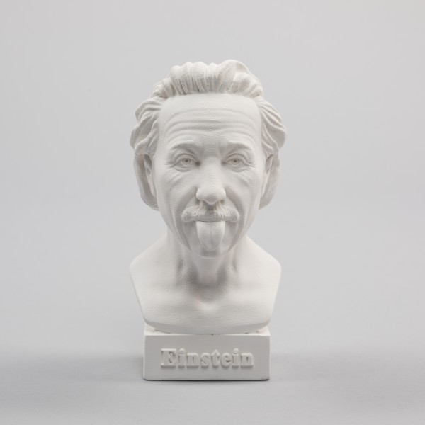 Büste Albert Einstein (Zunge)