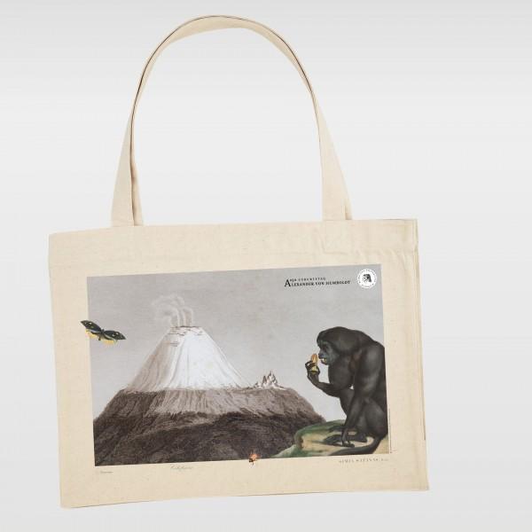 Shoppingtasche mit einem Motiv nach Alexander von Humboldt
