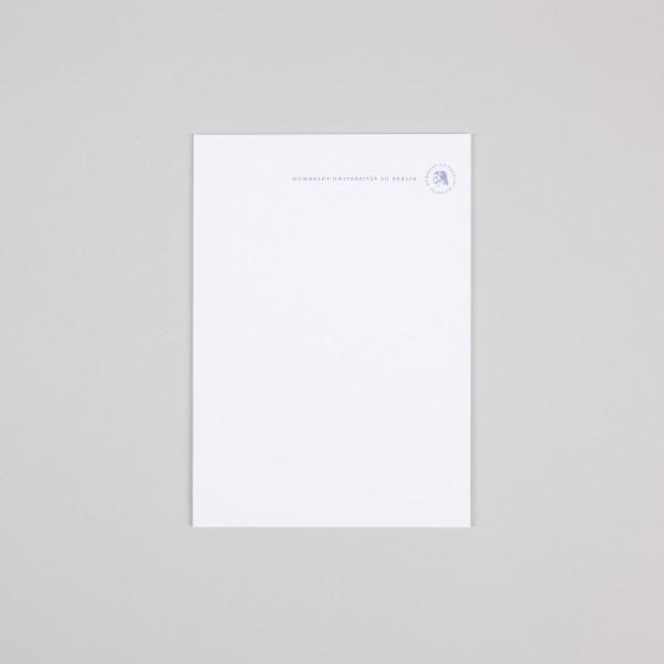 Schreibblock A5 Siegel