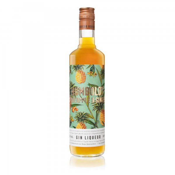 Humboldt-Ananas & Ingwer Gin-Likör