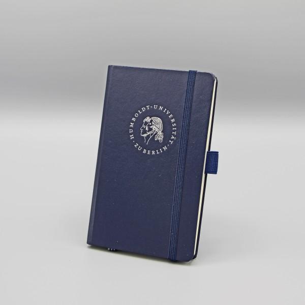 Notizbuch mit dem Siegel der Humboldt-Universität zu Berlin