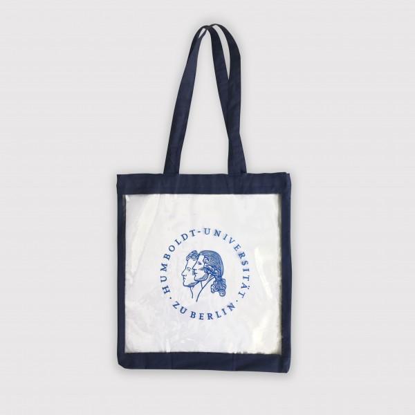 BiBtasche - durchsichtige Tasche für die Bibliothek