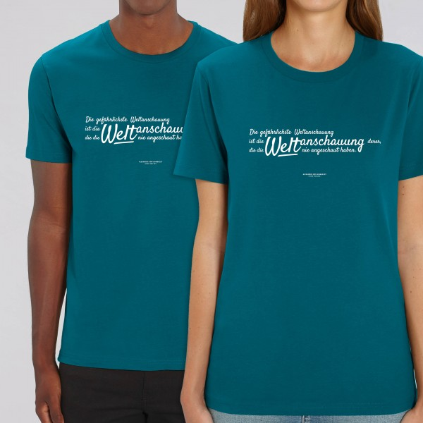 """UNISEX-T-Shirt """"Weltanschauung"""""""
