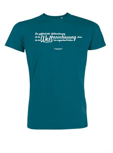 """Herren-T-Shirt """"Weltanschauung"""""""