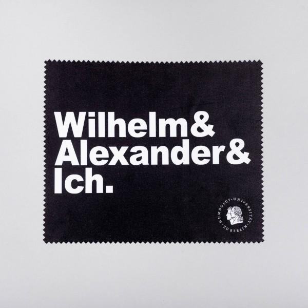 Brillentuch Wilhelm, Alexander & ich